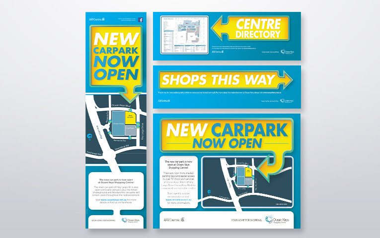 OCEAN KEYS: SHOPPING CENTRE CAR PARK OPENING CAMPAIGN